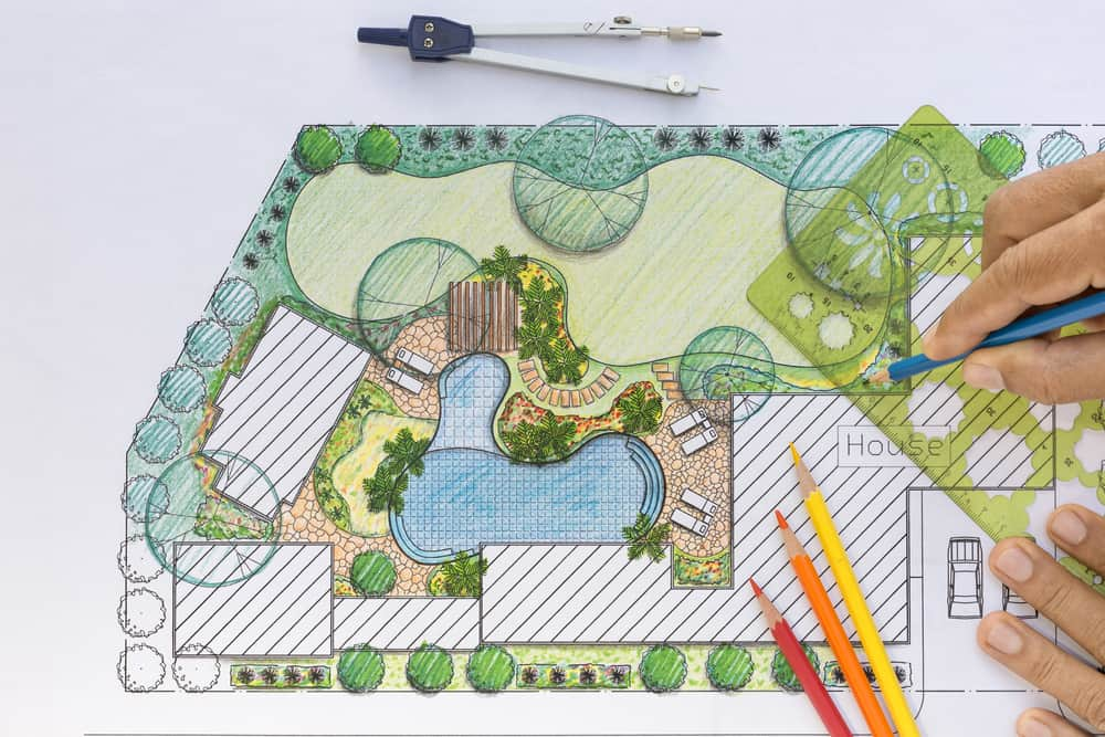 expert landscape design drawing