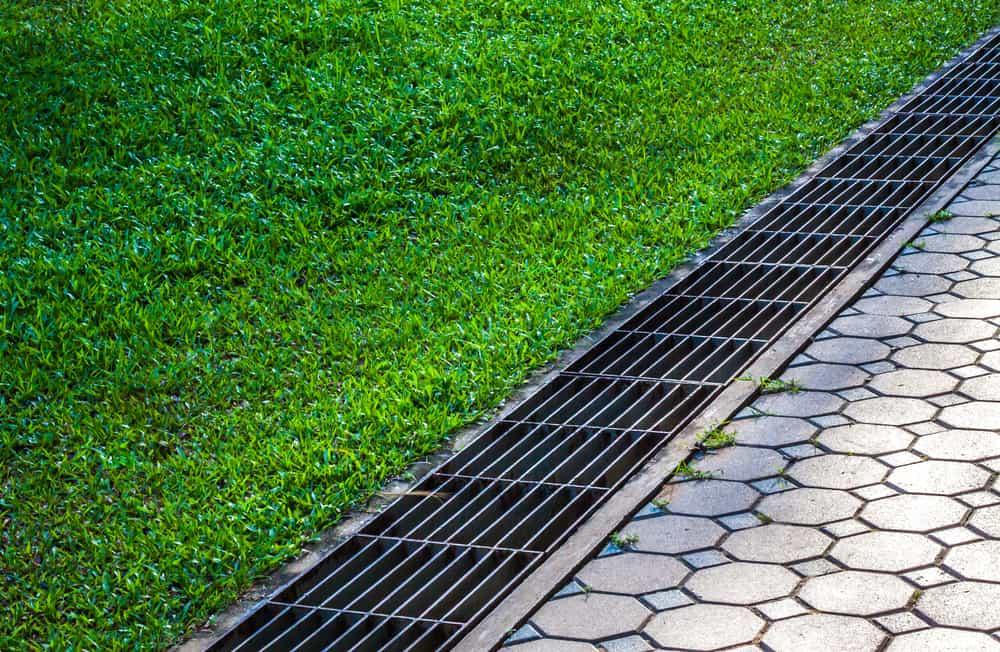 Sidewalk Drainage Systems
