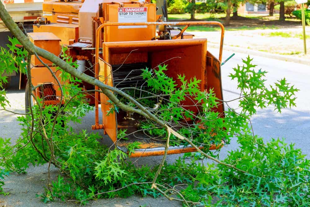 mulch machine